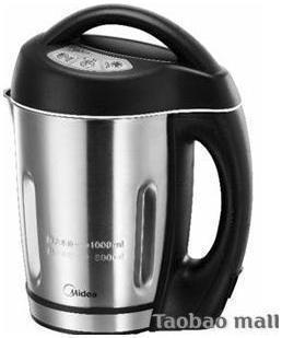 美的 黑色不锈钢1L DS101B豆浆机