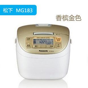 松下 预约定时方形煲微电脑式 SR-MG182电饭煲