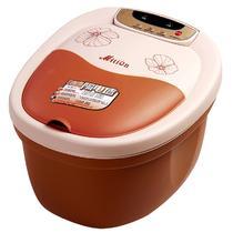 橙色咖啡色Mition/美承全国联保下排式连体结构 足浴盆