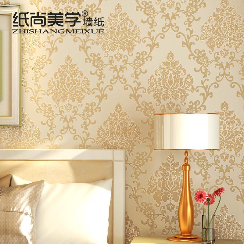 纸尚美学 压花有图案客厅欧式 GS50071墙纸