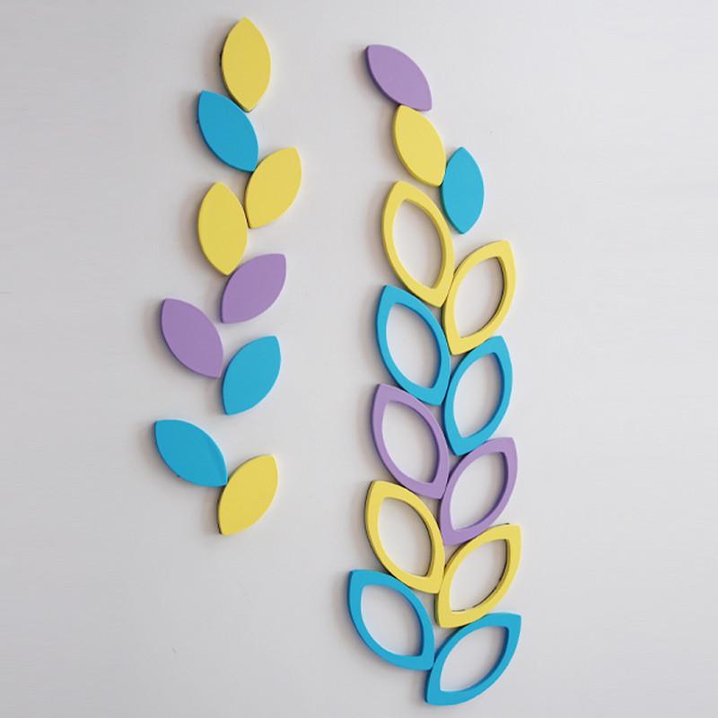 宜尚空间 立体墙贴植物花卉 墙贴