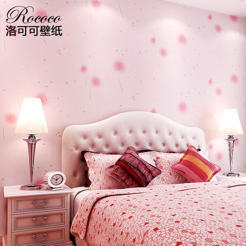洛可可 印花有图案客厅卧室婚房儿童房田园 墙纸