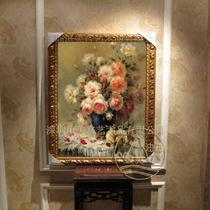立体有框画植物花卉手绘 HG21油画