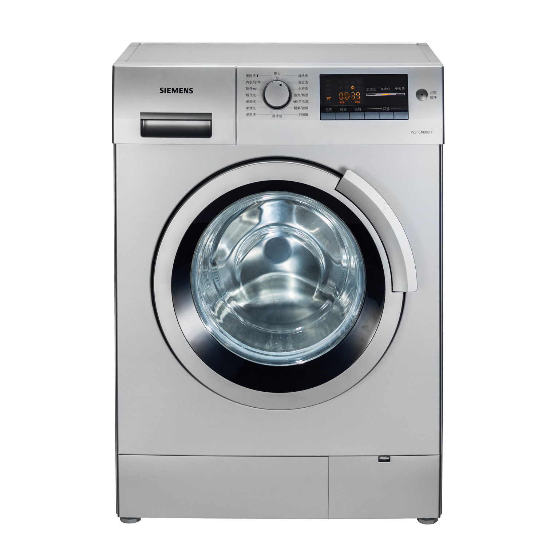 西门子 全自动滚筒WS10M368TI洗衣机不锈钢内筒 洗衣机