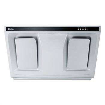 海尔 白色螺口灯泡54dB(A)冷板喷粉近吸式 抽油烟机