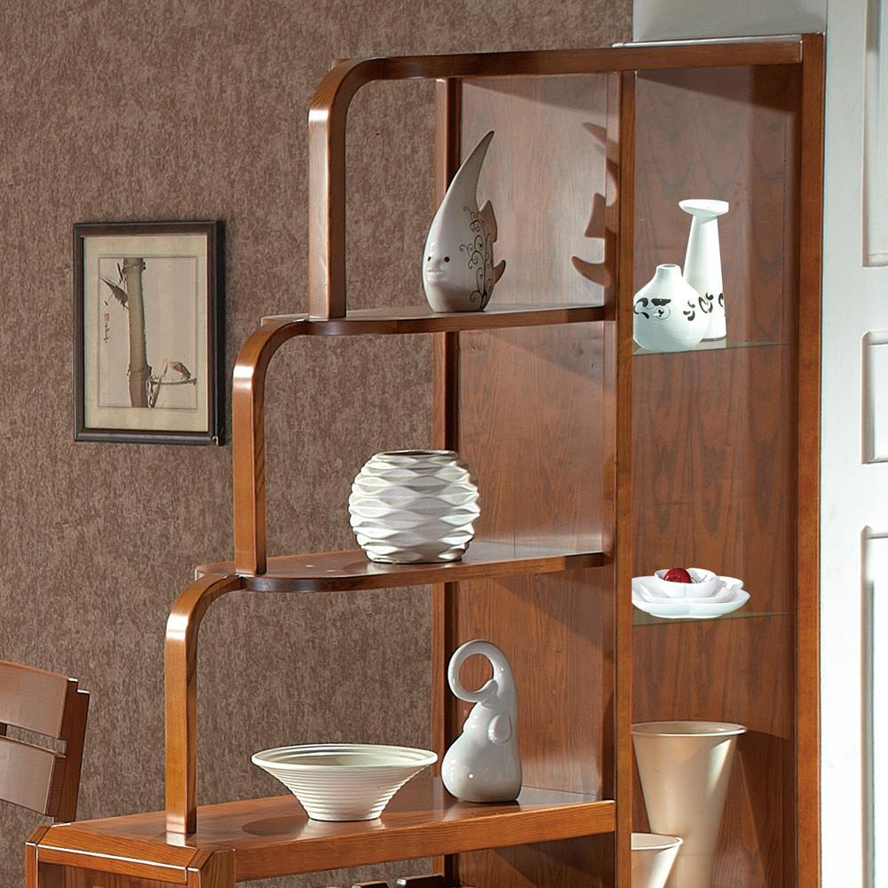 南巢 间厅柜支架结构榆木储藏艺术简约现代 玄关