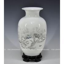 陶瓷台面花瓶中号明清古典 花器