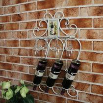 黑色古铜色白色焊接铁金属工艺欧式 酒架