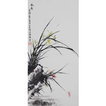 无框独立植物花卉 GHL00053国画