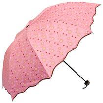 手动亮光丝黑胶晴雨伞三折伞成人 遮阳伞