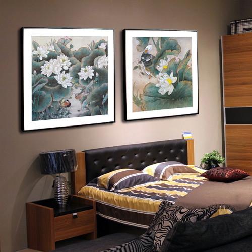 柠檬树款款平面有框单幅价喷绘装饰画