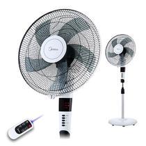 黑白色Midea/美的摇头交流电全国联保电脑式 电风扇