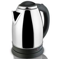 银色国产优质温控器不锈钢普通电热水壶2L底盘加热 NK-SH2001电水壶