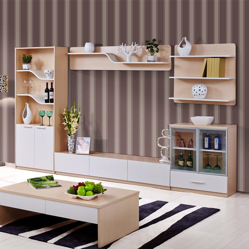 酒柜人造板刨花板/三聚氰胺板箱框结构储藏简约
