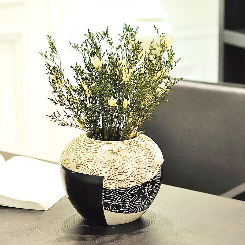 JK 君凯陶瓷 陶瓷台面SD-04花瓶大号简约现代 花瓶