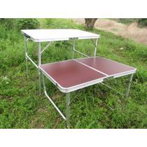 金属铝合金框架结构折叠简约现代 SG-8816折叠桌