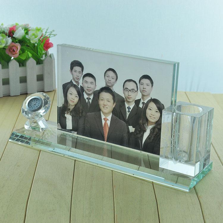 华易特水晶桌面摆件学业简约现代摆件