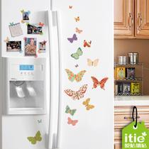蝴蝶款花朵款 冰箱贴
