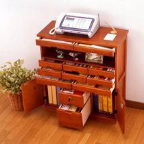 72长95长48长木落地文件柜移动矮柜带抽屉移动 文件柜