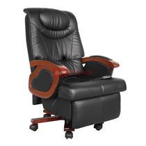 黑色系高弹性记忆海绵职工椅/电脑椅皮衣上海真皮现代简约 转椅