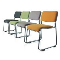 金属无扶手不锈钢钢制脚皮艺 扶手椅