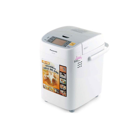 松下 白色單攪拌葉片5檔以上塑料50Hz特氟龍涂層 面包機