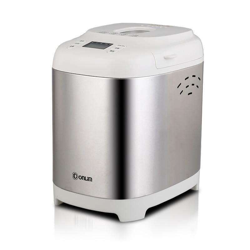 东菱 白色面包单搅拌叶片金属断电记忆功能电热管加热电脑式 面包机