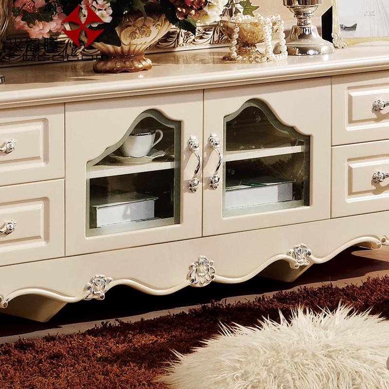 火图腾 精细木质结构橡木成人欧式 电视柜价格,图片