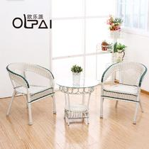塑料编织/缠绕/捆扎结构移动艺术田园 咖啡桌