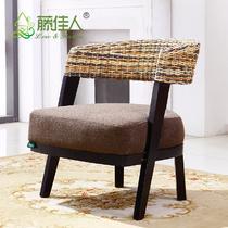 竹编编织/缠绕/捆扎结构移动各国风情东南亚 3RAP303-13咖啡桌