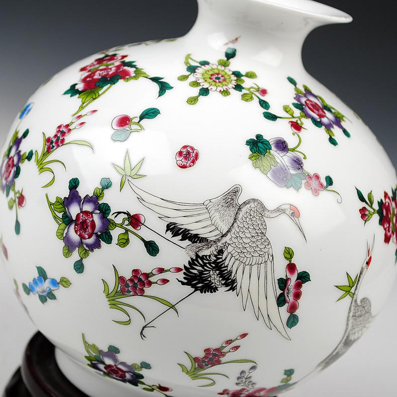 鼎众陶瓷 陶瓷台面花瓶简约现代 DZ116341花器