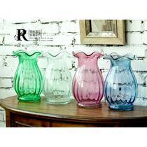 玻璃台面花瓶小号欧式 花器
