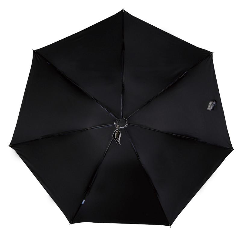 天堂 黑胶手动聚酯纤维晴雨伞三折伞成人 宠物情缘遮阳伞