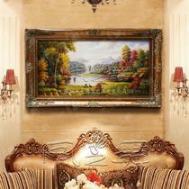 立体有框画面构图1画面构图2动物图案手绘 油画
