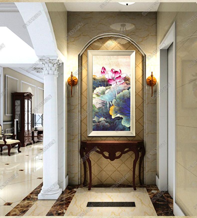 恒艺轩立体有框单幅植物花卉手绘油画