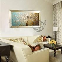 立体单幅有框画风景手绘 YDH001油画