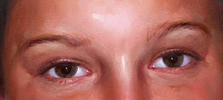 尚雅色彩饱满立体无框单幅静物手绘油画