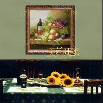 立体无框有框单幅静物手绘 jw01油画