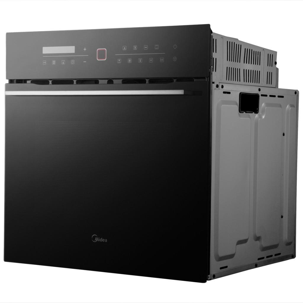 美的 黑色全国联保电脑式嵌入式 电烤箱