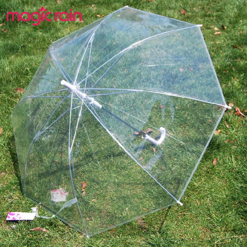MAGIC RAIN 半自动POE/EVA雨伞长柄伞成人 遮阳伞