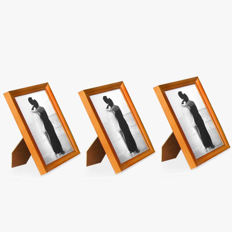 光头强 白色黑色胡桃木相框长方形简约现代 相框