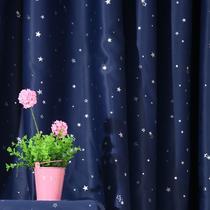 布帘+纱帘装饰+全遮光平帷涤纶韩式 2008窗帘
