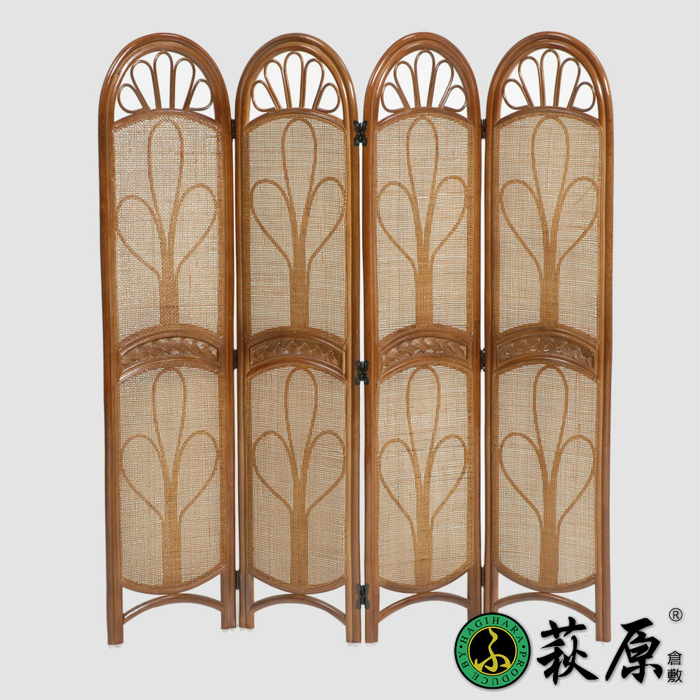 萩原 褐色桔色缠接图案纹样编织植物藤各国风情东南亚