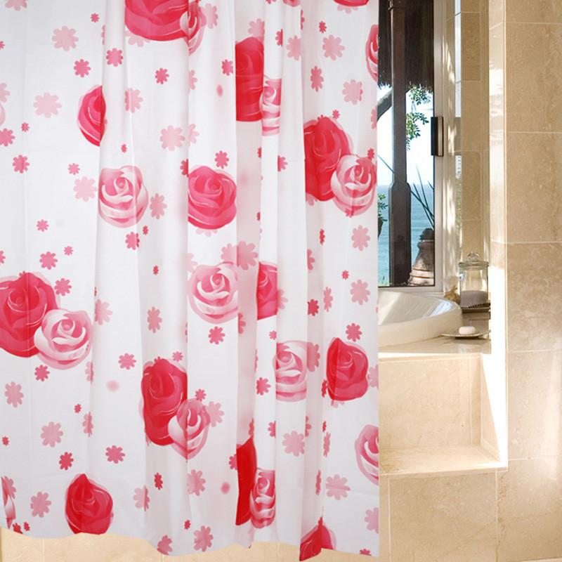 杜玛 植物花卉简约现代 浴帘