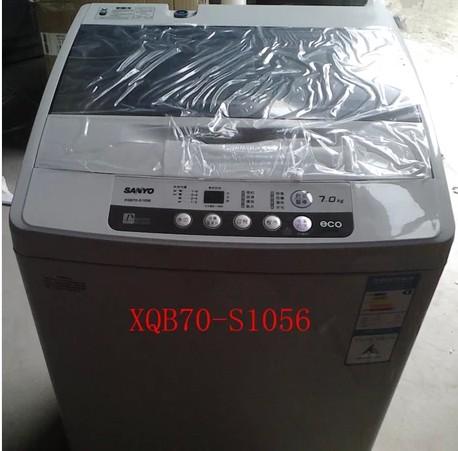 三洋 全自动波轮xqb70-1058us洗衣机不锈钢内筒 洗衣机