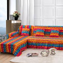 枫树叶子布植物花卉条纹沙发巾组合沙发韩式 沙发罩