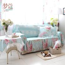 罗曼莎-沙发巾布植物花卉组合沙发田园 沙发罩
