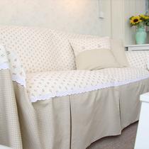珍熙拼接布植物花卉沙发巾双人座沙发韩式 沙发罩