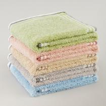 粉蓝绿驼绿灰驼粉纯棉</=5s洁面美容毛巾百搭型 美容巾