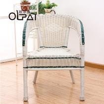 塑料编织/缠绕/捆扎结构移动艺术欧式 公园椅